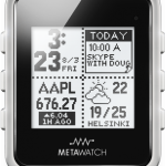 Meta Watch Ltd.  MetaWatch Frame Smartwatch