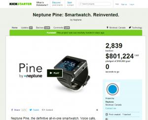Neptune Pine Kickstarter Page