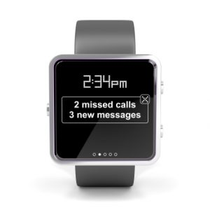 smart watch notification