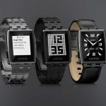 Pebble Tech  Steel Smartwatch