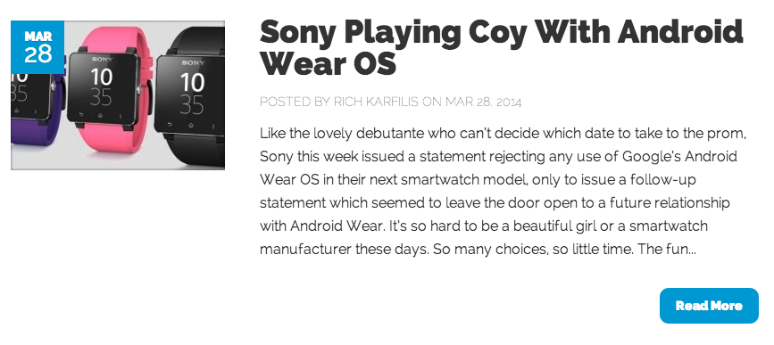 smartwatch news