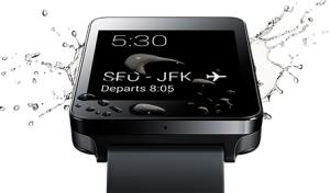 LG G Watch IP67 water