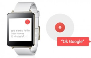 LG G Watch OK Google