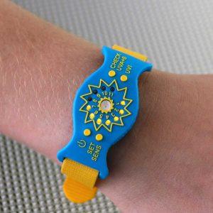 SunFriend Blue Ocean on wrist