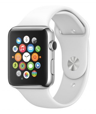 Apple Watch in white