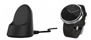 Moto 360 and charging dock