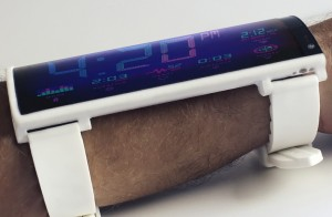 The Portal wearable smartphone on the wrist