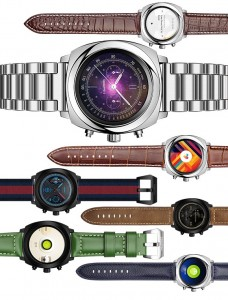 Geak Watch 2 design and straps