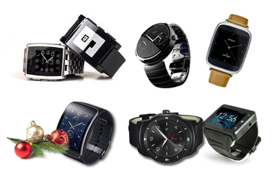 Smartwatch Buyer's Guide for the Holiday Season 2014