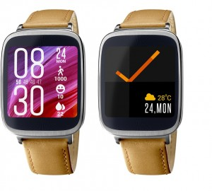 Asus ZenWatch multiple watchfaces