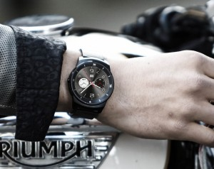 G Watch R in style