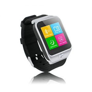 LEMFO-S28-Smartwatch-154-inch-Touch-Screen-Smart-Watch-Phone-for-Samsung-Huawei-HTC-etc-Android-Smartphone-Support-Call-SIM-Apps-Notification-Sync-FM-TF-Anti-Lost-Pedometer-Sleep-Monitor-Silver-0-2