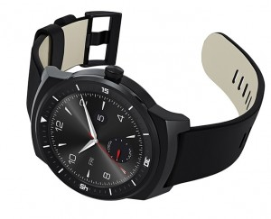 LG G Watch R sideways