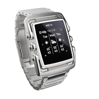 Meta-M1-The-Art-of-The-Glance-Luxury-Smart-Watch-For-Iphone-4S-and-above-and-Andriod-43-and-above-Stainless-Steel-0