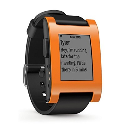 Pebble-E-Paper-Smart-Watch-for-iPhone-and-Android-Devices-Orange-0