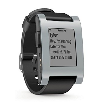 Pebble-Smart-Watch-for-iPhone-and-Android-DevicesGrey-0
