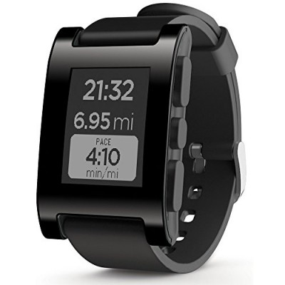 Pebble-Smartwatch-for-iPhone-and-Android-Black-0