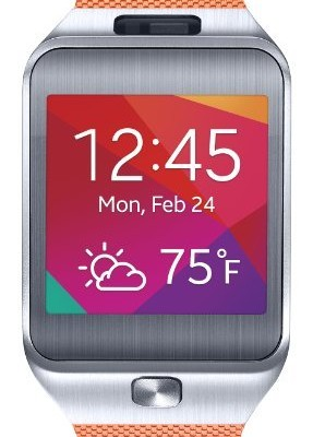 Samsung-Gear-2-Smartwatch-Metallic-Orange-US-Warranty-0