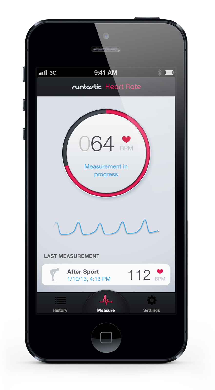 Runtastic on your smartphone