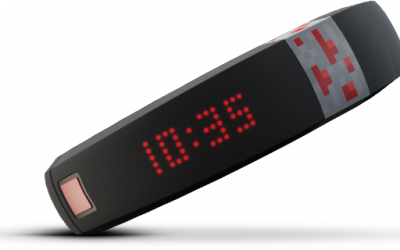 The Minecraft Gameband Offers Portable Worlds and Cloud Backup