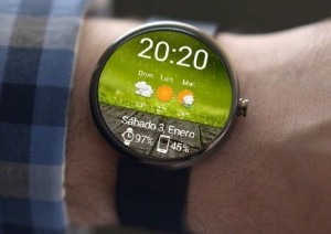 Beautiful Weather android wear smartwatch watchfaces