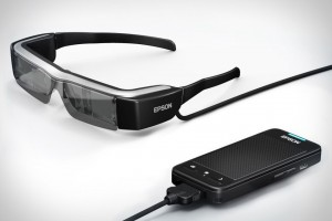 Epson Moverio BT-200 smartglasses