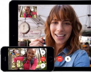 FaceTime in Apple iOS 8