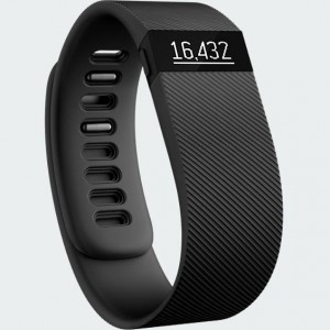 Fitbit Charge OLED display