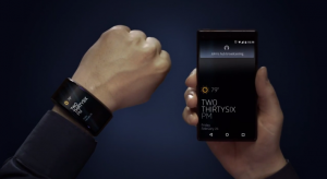 Neptune Duo and Neptune Hub smartwatch in use