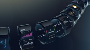 Neptune Hub smartwatches in a group