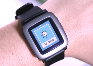 Pebble Time updated UI
