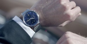 Huawei Watch being worn