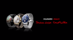 Huawei Watch timeless design promotional