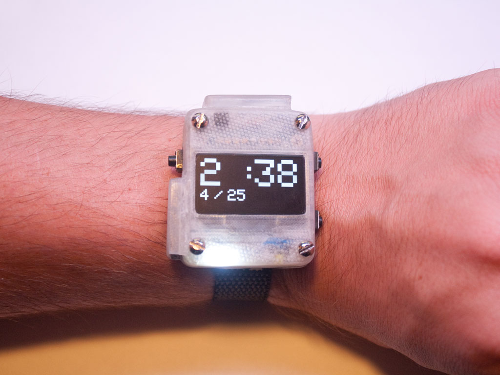 How To Make Your Own Smartwatch With The Open Source Project Plastic Smart Bracelet Bluetooth Speaker Circuit Board High