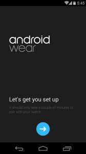 Android Wear App setup