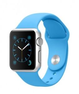 Apple Watch Sport blue band