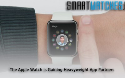 Apple Watch Gaining Some Heavyweight App Partners