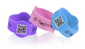 FlashMe info band