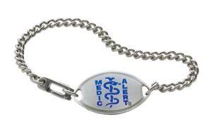MedicAlert bracelet - senior wearables and trackers