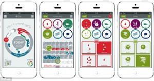 Clue fertility tracking app