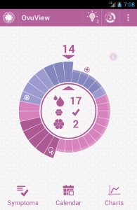 OvuView fertility tracker app