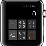Cruncher app on Apple Watch
