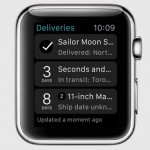 Deliveries app Apple Watch
