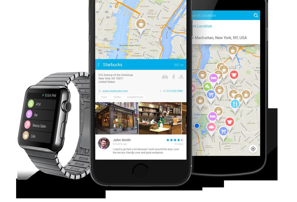 Find Near Me Apple Watch App
