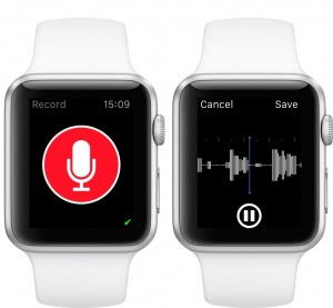 Just Press Record Apple Watch