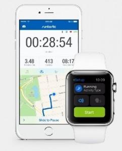 Runtastic Apple Watch app