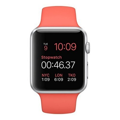 Apple-Watch-38mm-Silver-Aluminum-Case-Pink-Sport-Band-0