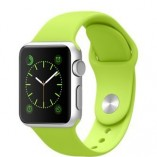 Apple-Watch-42mm-Silver-Aluminum-Case-with-Green-Sport-Band-0
