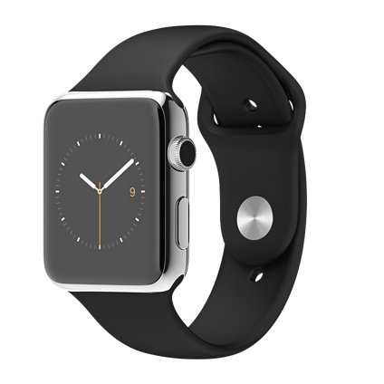 Apple-Watch-42mm-Stainless-Steel-Case-with-Black-Sport-Band-0