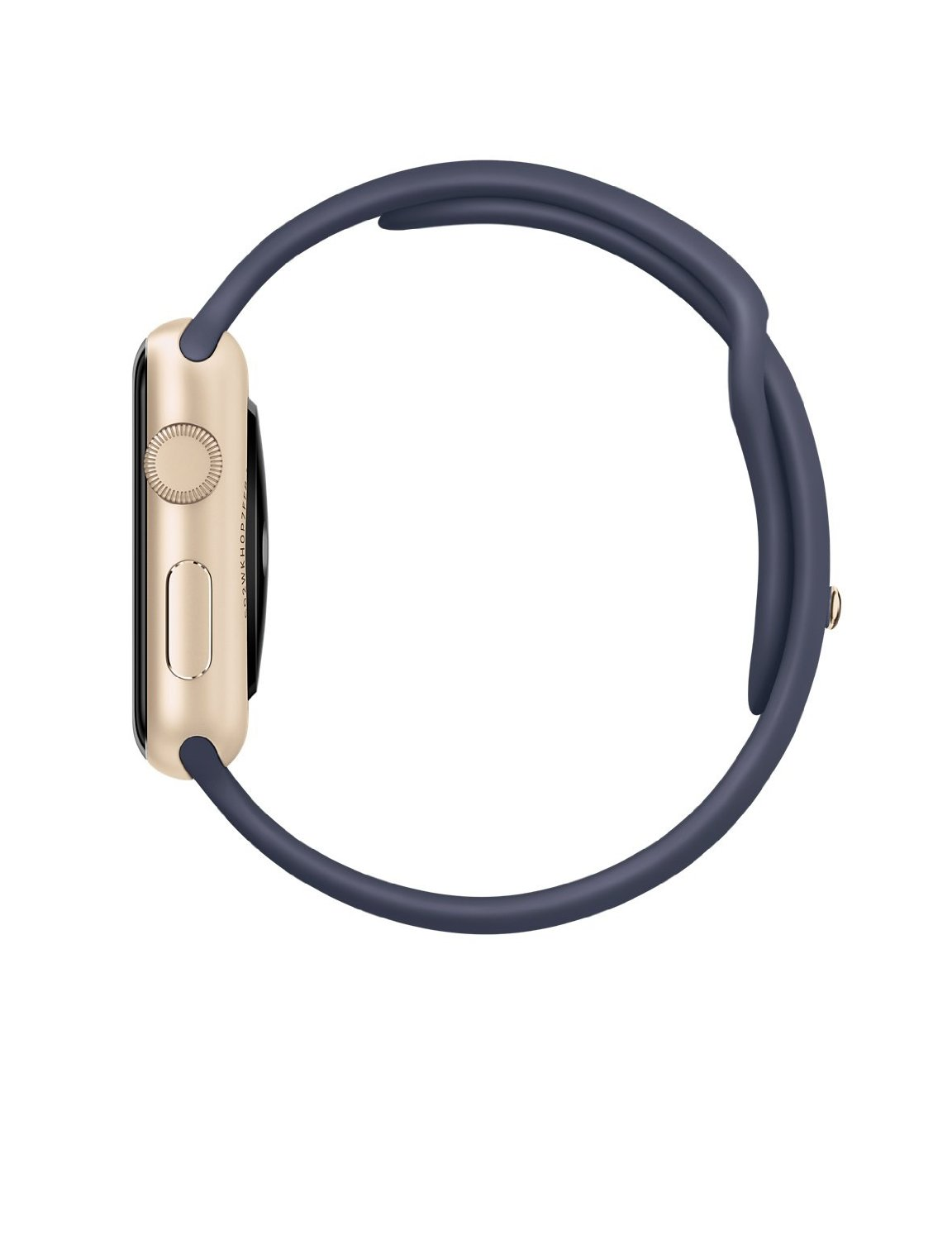 Apple Watch Sport 42mm With Midnight Blue Band And Gold Case 2 Series 1 38mm Aluminium